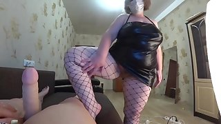 POV.lesbiyanki girlfriend, shaking big boobs, shaking a big ass.